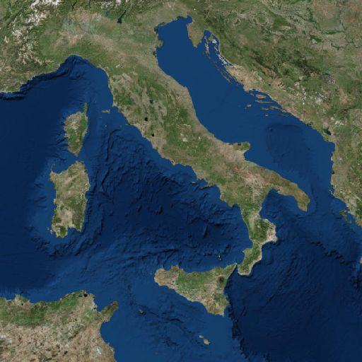 Puglia Cartina Stradale E Visione Satellitare.Geoportale Nazionale