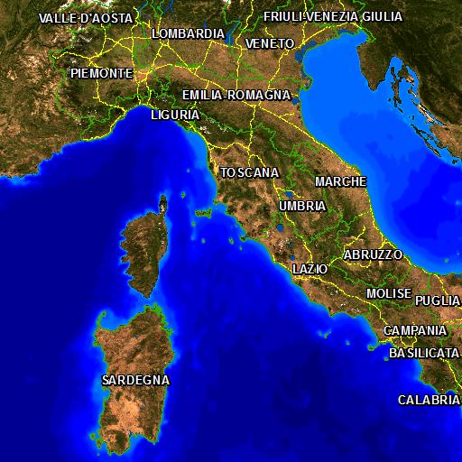 Cartina Italia Javascript.Natura Italia Vivi Le Aree Naturali