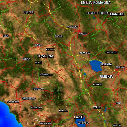 Cartina Italia Javascript.Natura Italia Area Naturale