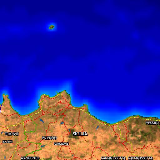 Cartina Sicilia Mondello.Natura Italia Area Naturale